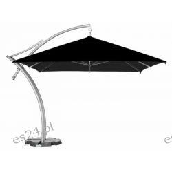 Parasol Ogrodowy Ibiza Quattro 3,5x3,5 m - Czarny