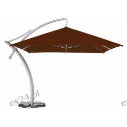 Parasol Ogrodowy Ibiza Quattro 3,5x3,5 m - Brązowy