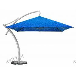 Parasol Ogrodowy Ibiza Quattro 3,5x3,5 m - Bąbelki Niebieskie