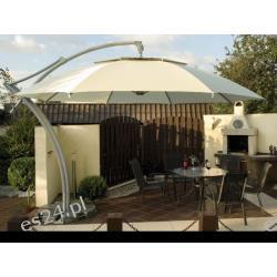 Parasol Ogrodowy Ibiza 3,5 m- Natural