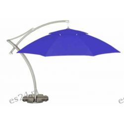 Parasol Ogrodowy Ibiza 3,5 m - REFLEX BLUE