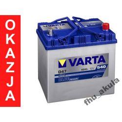 Akumulator 60Ah VARTA BLUE D47 540A - Mazda Subaru