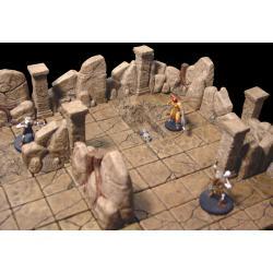Rock Cavern Pillar 130 elementów Akcesoria