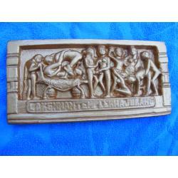 Kamasutra relief indyjski duzy 21 x10 cm-2sztuki
