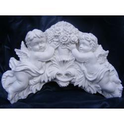 Relief,aniołki z bukietem róż Akcesoria