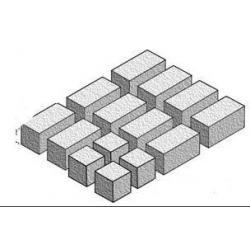Cegiełki 25X10X10mm i 10X10X10mm -140 szt