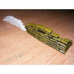 Worki z piaskiem-do barykady 1/35-180 sztuk