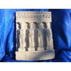 Relief kariatyda-grecka płaskorzeżba Akcesoria