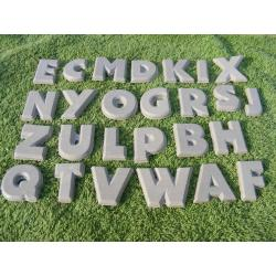 Wszystkie literki alfabetu