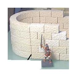 Półokrągly mur