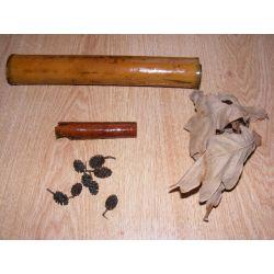 Zestaw bambus,liście,szyszki,cynamon Akcesoria