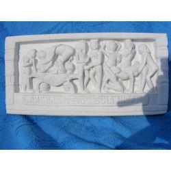 Kamasutra relief indyjski  duży  21 cm x 10 cm Akcesoria