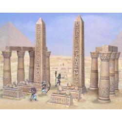 Akcesoria do budowy egipskiej świątyni
