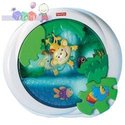 Uspokajający wodospac Fisher Price muzyczna zabawka do łóżeczka...