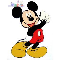 Naklejki na ścianę do pokoju dziecięcego Disney Myszka Miki...