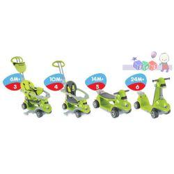 Trzyfunkcyjny pojazd Smart-Trike All in One 4w1 - wózek, jeździk, hulajnoga...