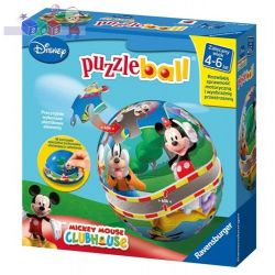 Puzzle kuliste Puzzleball Junior 24 elementy Disney Myszka Miki Ravensburger 4-6 lat...