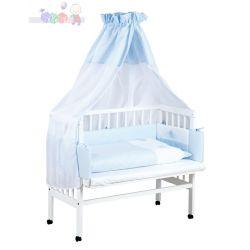 Dostawne łóżeczko dziecięce 90x40 Piccolo Klupś...