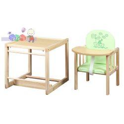 Krzesełka do karmienia niemowląt, drewniane krzesełko Agnieszka II Klupś...
