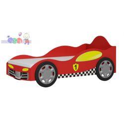 Łóżeczko samochód Super Speed z płyty laminowanej 188x98x84...