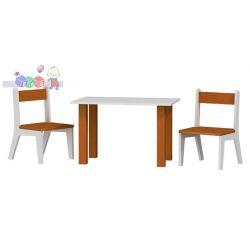Stolik + 2 krzesełka zestaw dla dzieci  50x80x54wys...