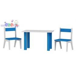 Stolik + 2 krzesełka do pokoju dziecięcego...