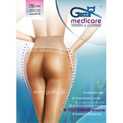 Rajstopy Przeciwżylakowe Gatta Medicare 70 den*4-L