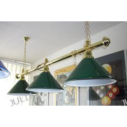 LAMPA 3-kloszowa NOSTALGIA do 8 i 9ft stołów bilardowych