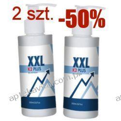 2 sztuki żel XXL K2 Plus, powiększa jeszcze bardziej, 200ml
