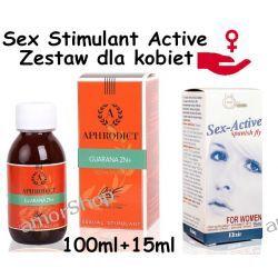 Sexual Stimulator - krople dla kobiet, gdy nic nie pomaga 100ml + 15ml