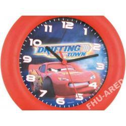 Zegar ścienny  Cars Auta - Licencja Disney