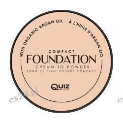 Kremowy podkład Foundation Compact Quiz nr.01