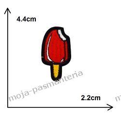 APLIKACJA, NAPRASOWANKA TERMO - LÓD MAŁY - 44x22mm