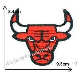 APLIKACJA, NAPRASOWANKA TERMO - NBA -BYK CHICAGO BULLS -84x93mm