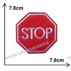 Naprasowanka - ZNAK STOP - 78x78mm
