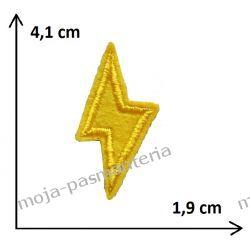 Naprasowanka -BŁYSKAWICA MAŁA- 41x19mm
