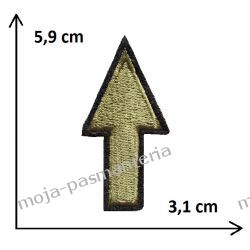 Naprasowanka -STRZAŁKA- 59x31mm