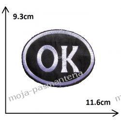 Naprasowanka - OK duże - 93x116mm