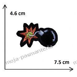 Naprasowanka - BOMBA - 46x75mm