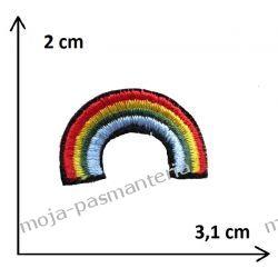 Naprasowanka -TĘCZA_2 - 20x31 mm