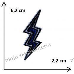 Naprasowanka -BŁYSKAWICA STRZAŁA- 6,2x2,2cm