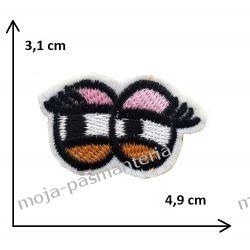 Naprasowanka -OCZY MINI 3.- 3,1x4,9cm