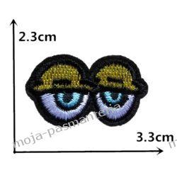 Naprasowanka -OCZY MINI 2.- 2,3x3,3cm