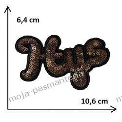 APLIKACJA NAPRASOWANKA TERMO - HYS - 6,4x10,6cm