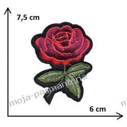 APLIKACJA TERMO -RÓŻA- 7,5cm x 6cm