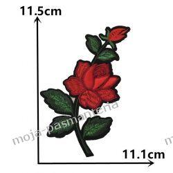 APLIKACJA NAPRASOWANKA -KWIATY - 11,5 x 11,1 cm