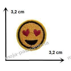 Naprasowanka - mała BUŹKA - 3,2 cm