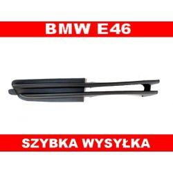 KRATKA ATRAPA W ZDERZAK PRAWA BMW E46 NOWA Bębny