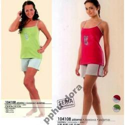 WADIMA PIżAMA S M L XL kr ręk+kr spodnie 2 KOL 36 / 38 40 42 44
