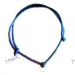 Bransoletka z sznurka (3 mm) - różne kolory